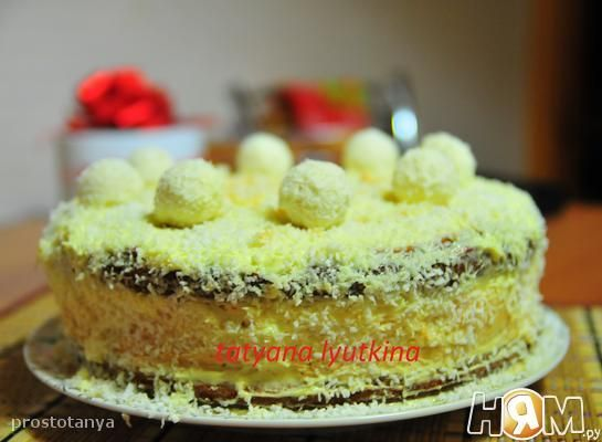 Рецепт торт мечта холостяка