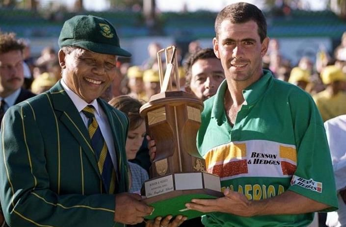 http://www.indiegogo.com/projects/legends-cricket-project/x/6589820 Picture off Nelson Mandela and Hansie Cronje  please support our cricket crowd funding project