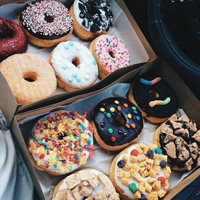 Food porn / donuts