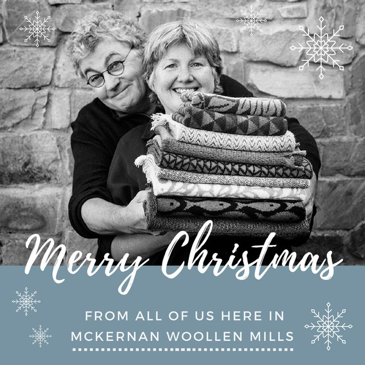 Merry Christmas! | McKernan Woollen Mills | Handmade scarves and accessories | Irish Made | Irish Design | Weaving & Knitting
