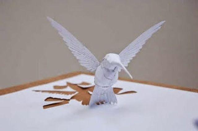 Foto HD Origami Burung artistik | Download Foto Fb HD