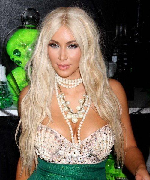 Kim Kardashian Hairstyles Samples: Blonde Hairstyles Kim Kardashian ~ Celebrity Hairstyles Inspiration