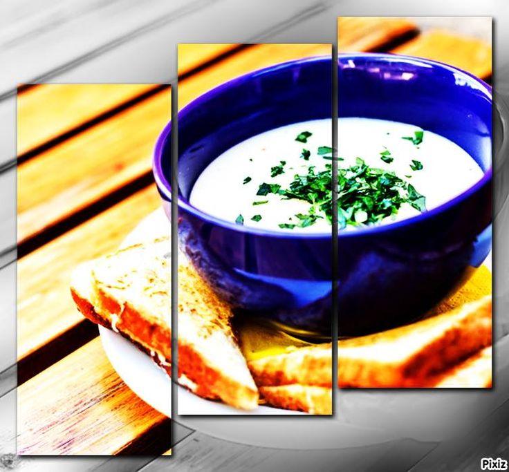 Fokhagymakrém-leves - krémes élvezet