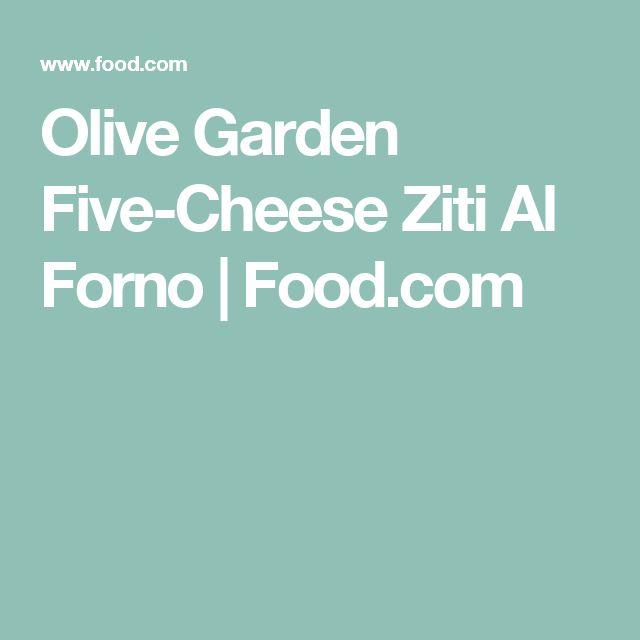 Olive Garden Five-Cheese Ziti Al Forno | Food.com