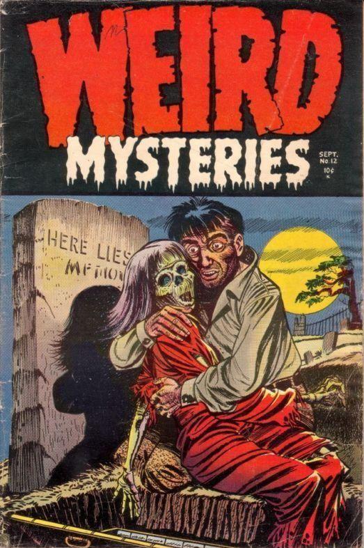 Weird Terror 7 Pre Code Horror 1953 Don Heck Comic Media Golden Age