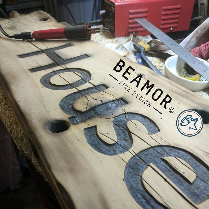 Personalised #rusticsigns great #weddingsign #mancave accessory #homedecore #woodsign #pyrography #personalisedsigns #etsy #beamorfinedesign