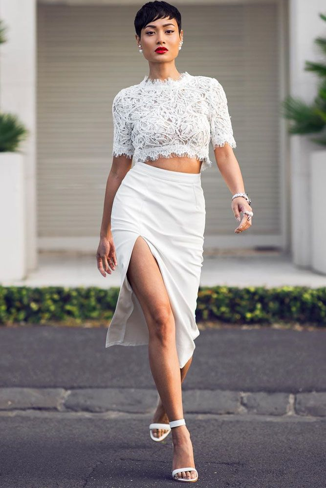 original white top outfit ideas pinterest 15