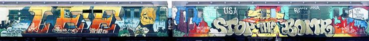 BBC - BBC Arts - Trainspotting: Shooting the graffiti art of New York's subway cars