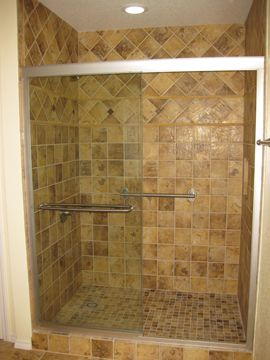 oIMG 1598 Why Not Convert Your Tub Into a Walk In Shower? pictures