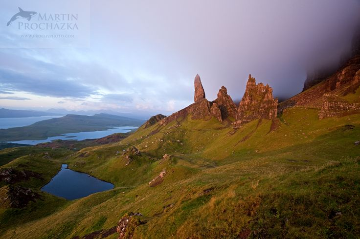 Old man of the Storr, Scotland, Skye, Skotsko