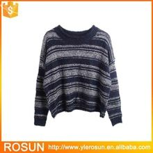 Unisex horizontal striped round neck sweater  Best Buy follow this link http://shopingayo.space
