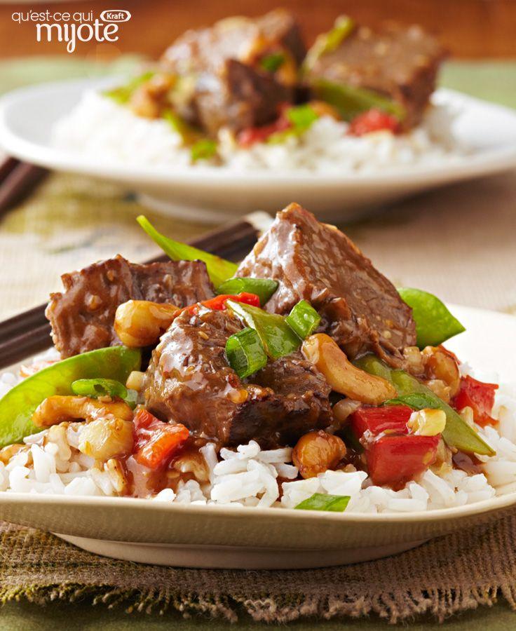 Bœuf à l'asiatique à la mijoteuse #recette