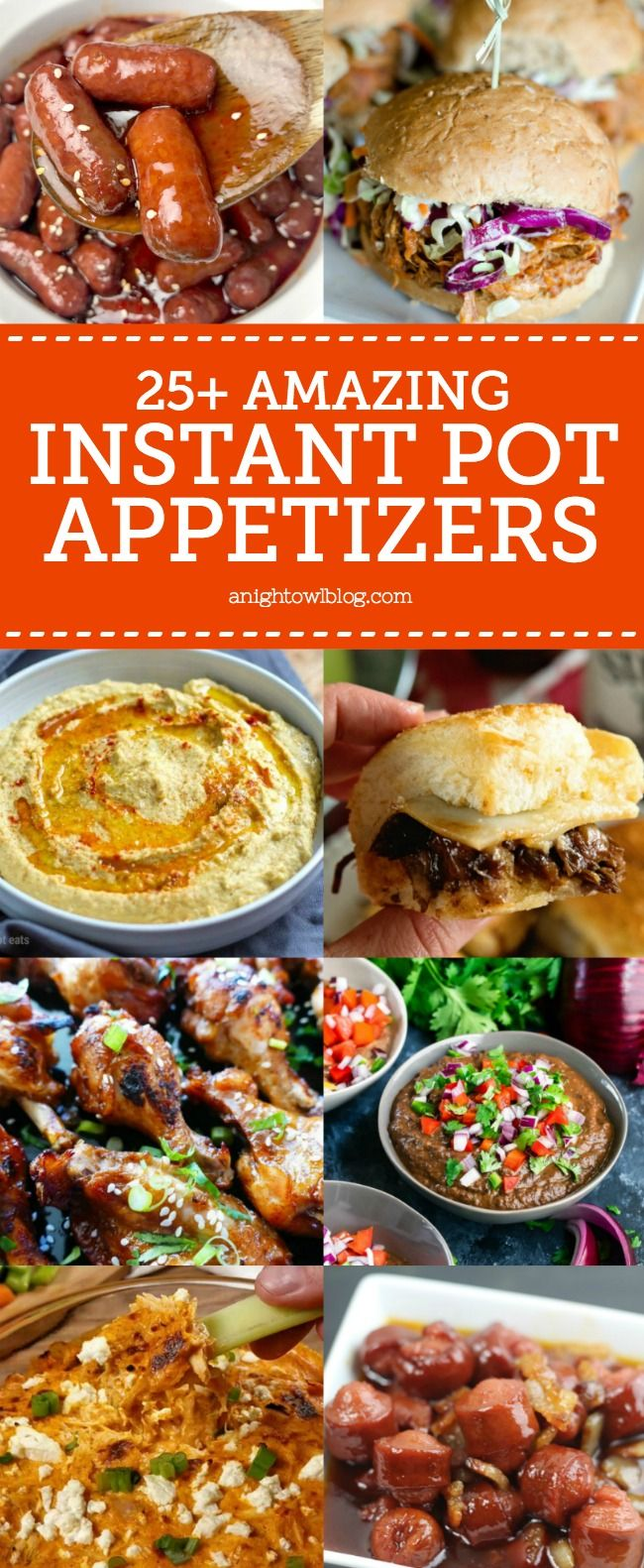 From BBQ Pulled Pork Sliders to Lil Smokies, discover over 25 Instant Pot Appeti…