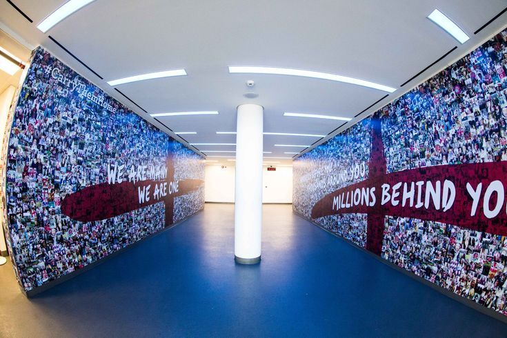 """""""Hundreds before you. Thousand around you. Million's behind you""""  The players tunnel; a unique, impressive and inspiring space used for event drinks receptions as it leads on to pitch side (non match day events) #unique #Events #London #venue"""