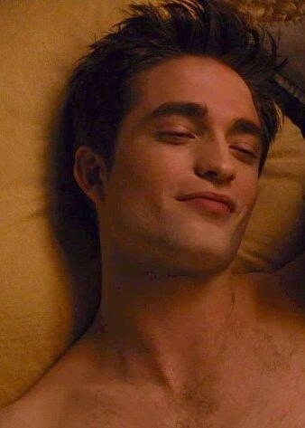 Edward  smug and happy..i love it