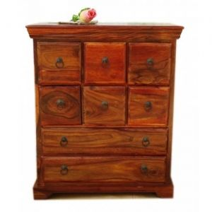 8 Drawer Chest  black