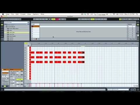 how to see chords with ableton