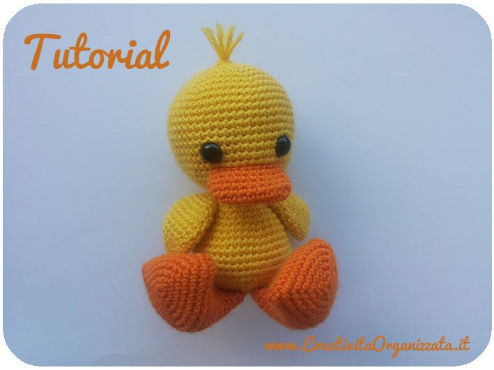 tutorial paperetto amigurumi