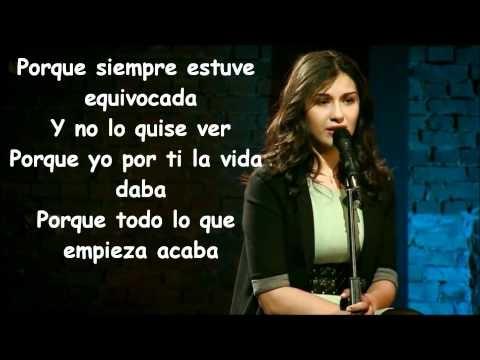 Alina Eremia-LYRICS-Equivocada