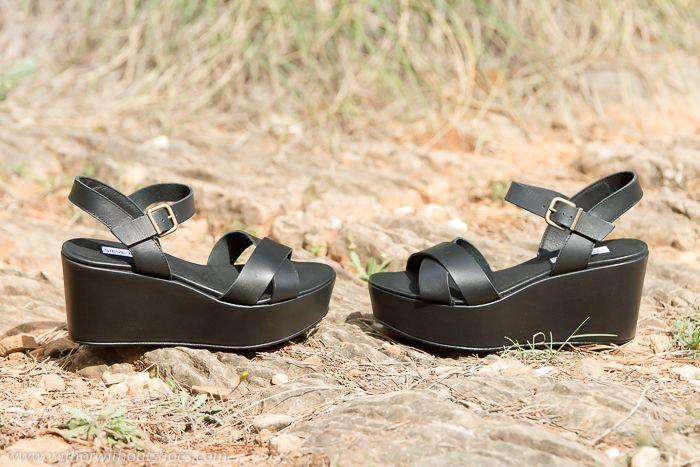 Sandalias con Plataforma cómodas de Steve Madden #shoes #zapatos #Adictaaloszapatos