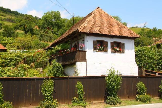 Tornácos ház - Erdőszentgyörgy - Székelyföld - Erdély fotó Székely György - Vándor székely hazatalál