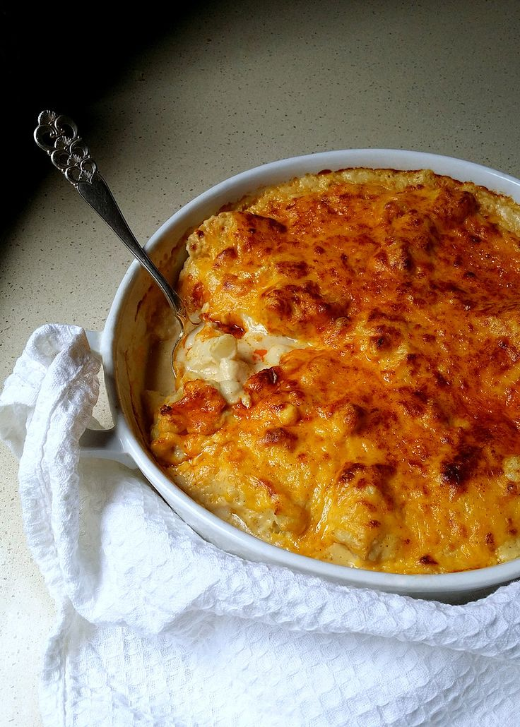 Low-Carb Double Cauliflower Cheese | Scrumptious South Africa #lowcarb #familyfood #banting