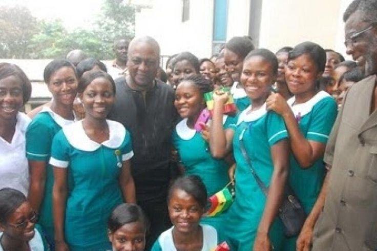 Govt Enticing Us To Get Our Votes  Trainee Nurses