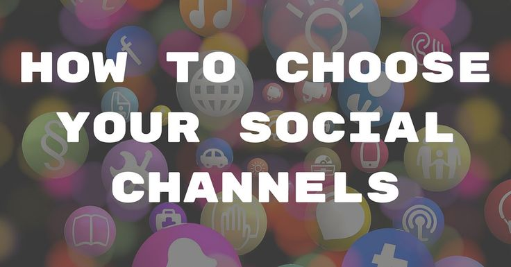 How To Choose Your Social Channels  ||  How to determine the best social channels to be active in and 10 questions to help you find the optimal answer for your special situation. https://blog.thesocialms.com/choose-social-channels-questions-ask/?utm_campaign=crowdfire&utm_content=crowdfire&utm_medium=social&utm_source=pinterest