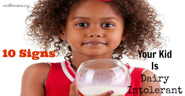 Most dairy intolerance develops between the ages of 2 and 5 years old.  Babies typically produce lactase (the enzyme required for the small intestine to break down the proteins and sugars naturally found in milk) upon birth as they need it to digest breast milk .  By age 3, many children show signs of being ...