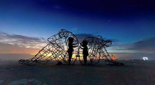 burning man sculpture inner child - Google Search