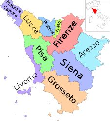 Il giro d'Italia con le regioni: la Toscana   #TuscanyAgriturismoGiratola