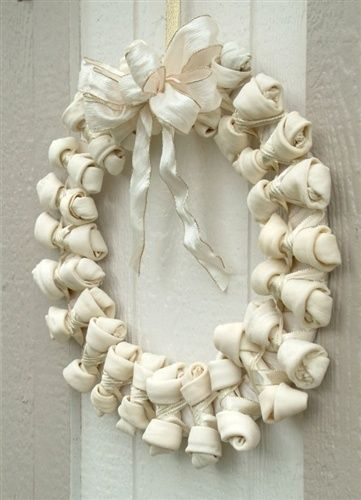 The Large Rawhide, Christmas Wreath, Winter White                                                                                                                                                     More