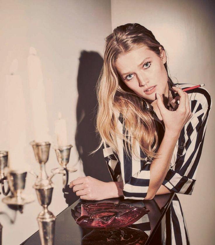 Harper's Bazaar Spain May 2017 Toni Garrn by Guy Aroch