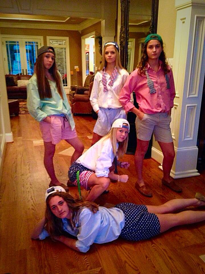 Best Halloween costume I've ever done. Frat boy; costume ideas; group costumes