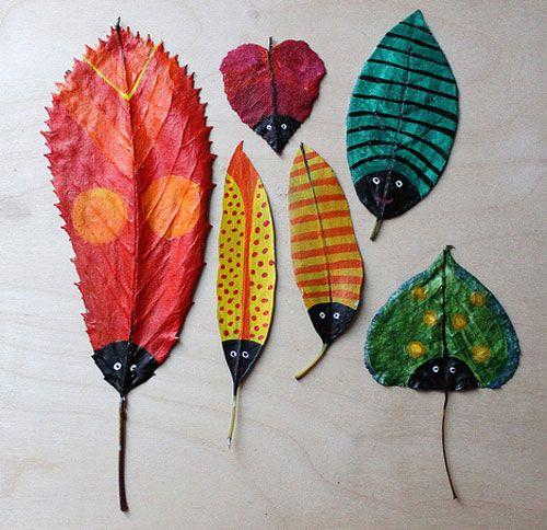 Поделки из листьев и цветов. Детские поделки и аппликации из листьев и цветов