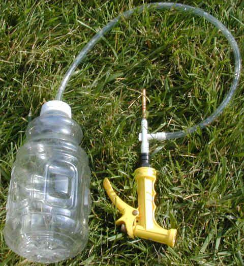 the 2 liter homemade water gun