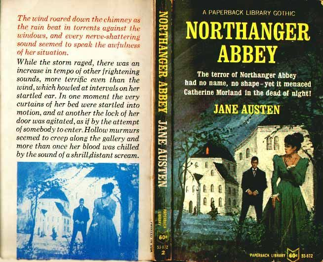 Paperback Library S Northanger Abbey So Intentionally Meta And Hilarious Here S Jane Being Wickedly Funny About Gothic Nove Jane Austen Gothic Novel Books