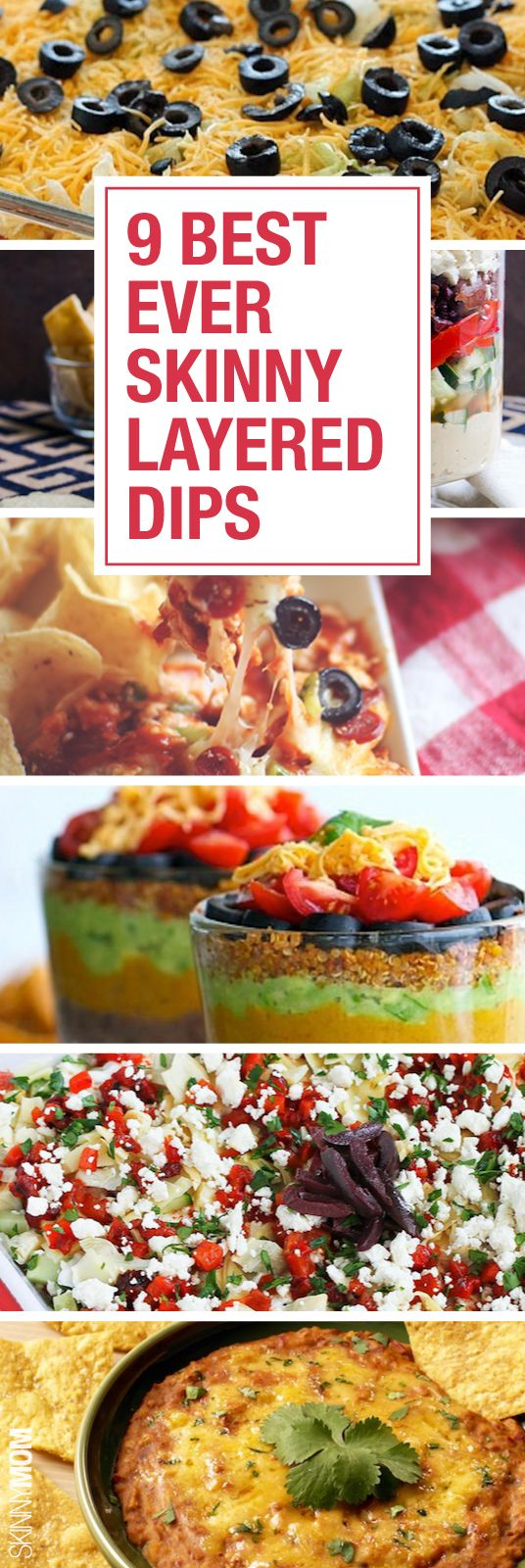 These dips are great for a healthy snack, especially for you next get-together.