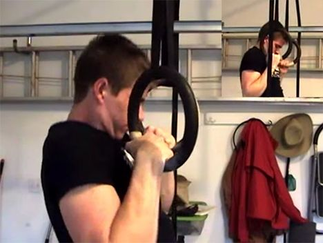 This is probably the best muscle-up tutorial online right now. In the video below, Matthew J. Simmons demonstrates a progression you can follow to go from a rank beginner to mastering muscle-ups. There are basically three parts to the muscle-up: the pull-up, the transition, and then the dip. Those are the three parts we'll be focusing on. Every exercise in the progression will be bodyweight to keep things simple. Do each exercise for several sets of 3-5 reps. Learning the The Pull-up Do…