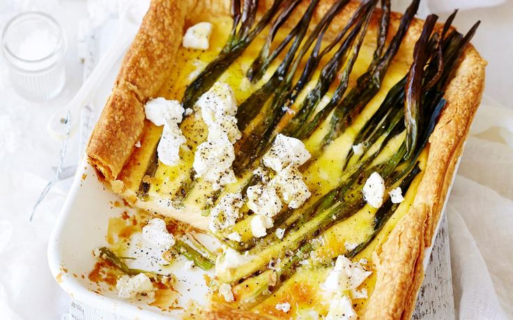 Easy cheesy leek quiche recipe - By Australian Women's Weekly, This easy cheesy leek quiche is jam-packed full of delicious ingredients, and encased in a perfectly flaky pastry shell. The perfect lunch or dinner for any day of the week!