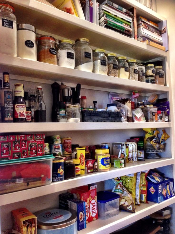 A tidy pantry makes a happy cook