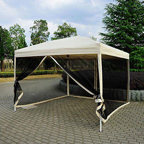 Outsunny 10x10 ft Pop Up Party Tent Wedding Gazebo Canopy... https://www.amazon.ca/dp/B00VRFXYX2/ref=cm_sw_r_pi_dp_x_YfFTybKDHJ8Q8