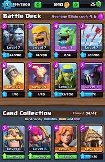 Playing Strategy Clash Royale - Gems is one of the currencies that are difficult to obtain, in Clash Royale Gems can be obtained free of charge through the