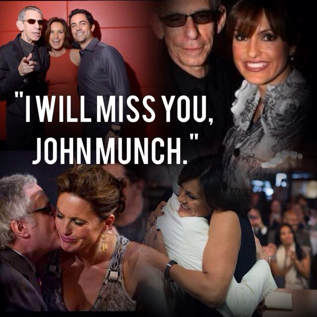 Goodbye John Munch. You will be missed. #SVU #myedit