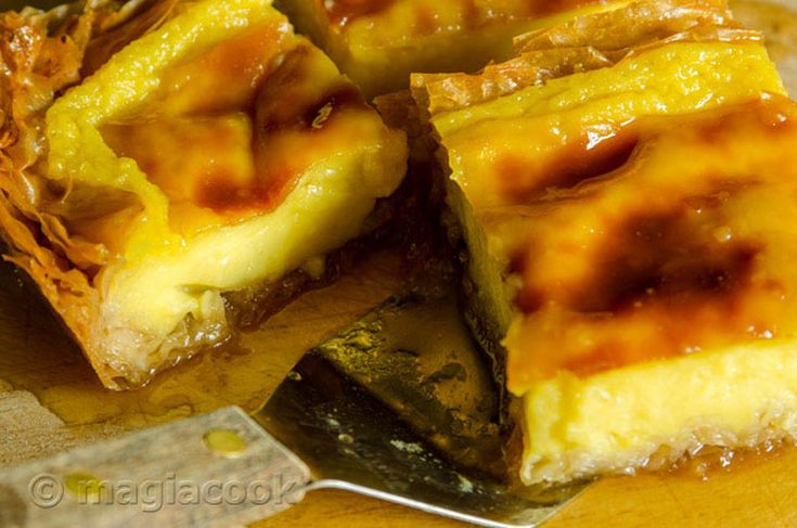 Γαλατόπιτα - γαλακτομπούρεκο