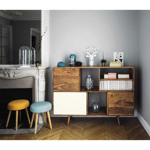 Love the retro feel of this luxe sideboard.