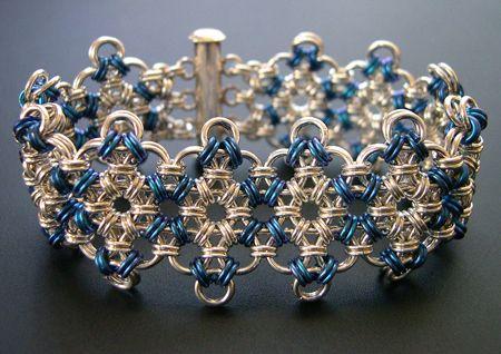 Google Image Result for http://3.bp.blogspot.com/_q7H5daARk5A/TVHwNbBYogI/AAAAAAAAN60/lZx_HJcJpHc/s1600/chained%2Bchain%2Bmaille%2Bjewelry%2BA.JPG