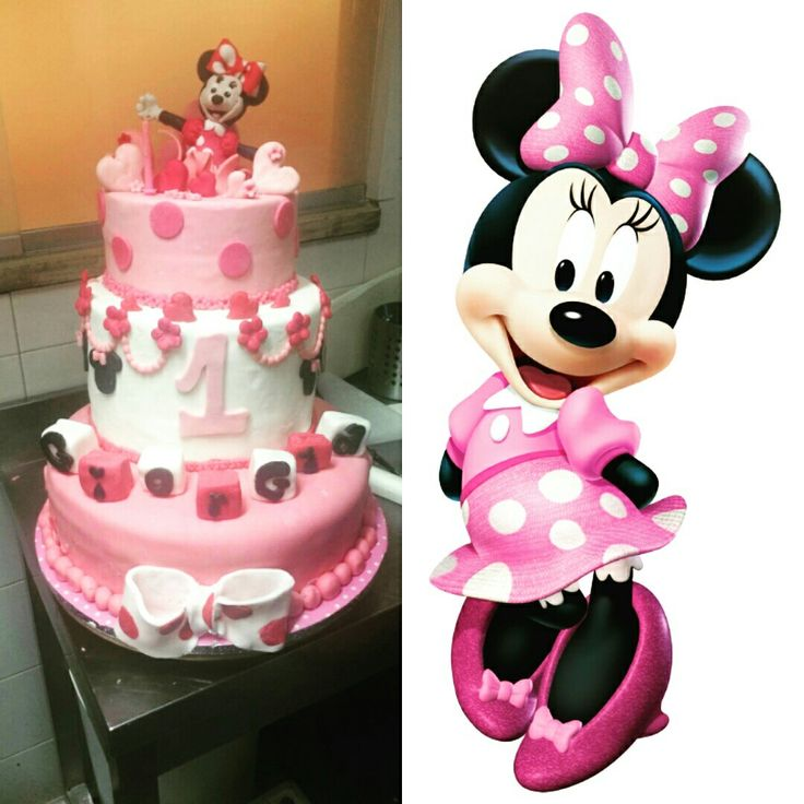 Minnie cake disney