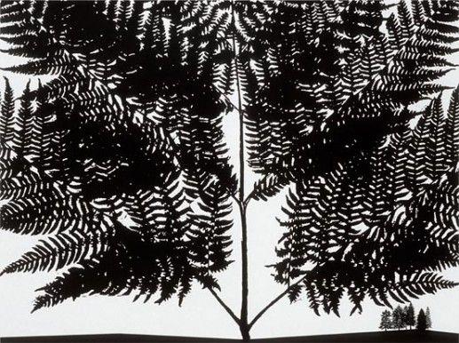 Paul morrison monochromatic botanical landscapes