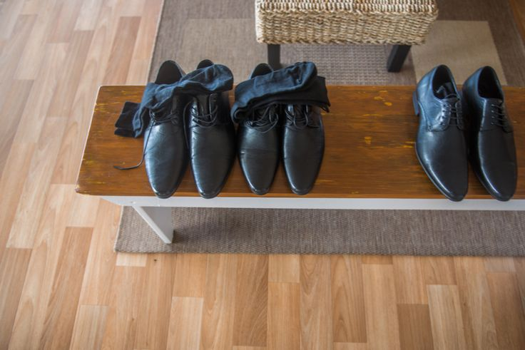 groom and groomsmen shoes waiting to go Wedding detail Stradbroke Island Photography